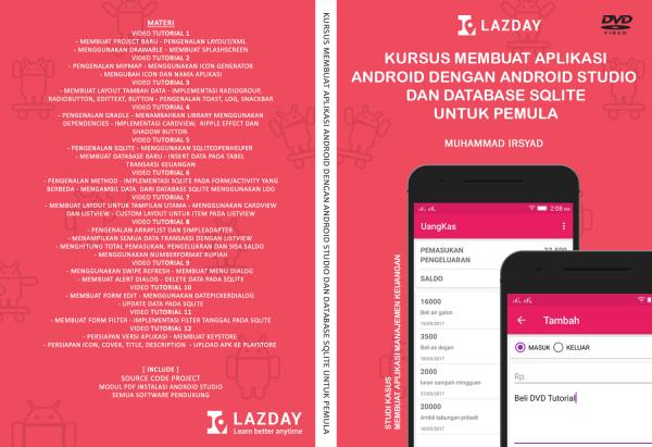 Tutorial Android Membuat Aplikasi Keuangan Pemula