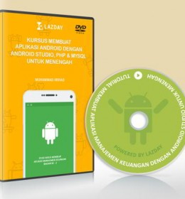 DVD Kursus Membuat Aplikasi Android PHP MySQL
