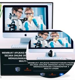 Tutorial Codeigniter Aplikasi Pendaftaran Pasien