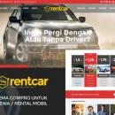 Theme Wordpress Rental Mobil Premium