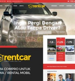 Theme Wordpress Rental Mobil Premium