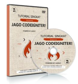 DVD Tutorial Belajar Codeigniter