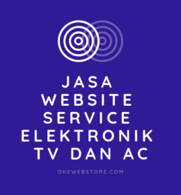 Jasa Website Service Elektronik TV dan AC